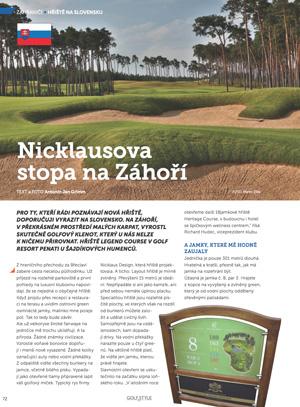Golf & Styl - zahranicní hrište
