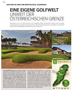 Extra Golf Ausgabe 1-2016